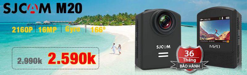 Camera thể thao đa năng SJCAM M20 Wifi