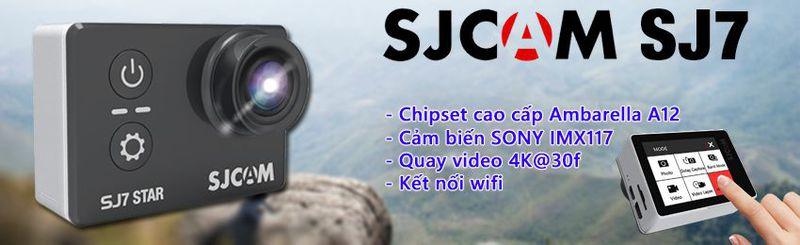 Camera thể thao đa năng SJCAM SJ7 Star 4K Wifi