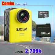Sjcam M20 wifi + Pin + thẻ 16G