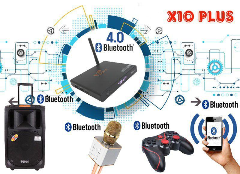 VinaBox X10 Plus android 7.1, Ram 2G, Rom 16G