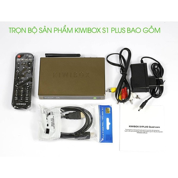 Kiwibox S1 Plus - Android Box giá rẻ RAM 1G, ROM 8G