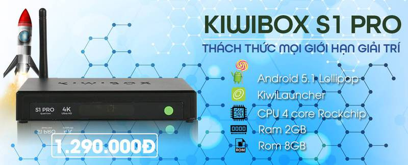 Kiwibox S1 Pro 2017