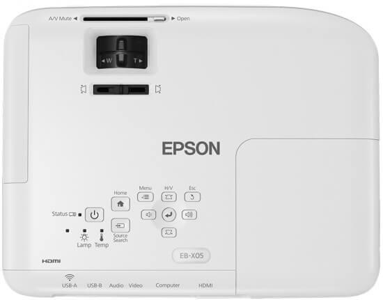 máy chiếu epson eb - x05 - 3