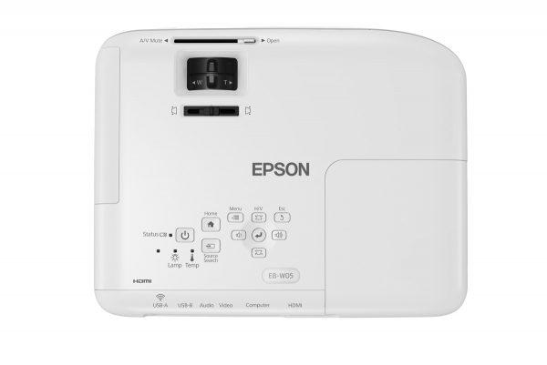 máy chiếu epson EB - W05 3