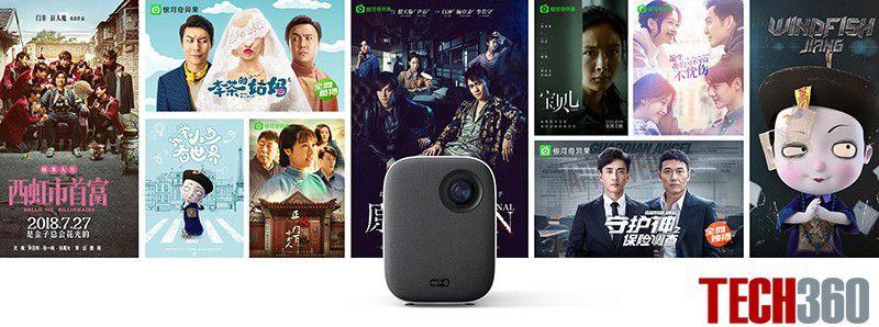 Máy chiếu mini Xiaomi Mijia Portable 1080p bản quốc tế