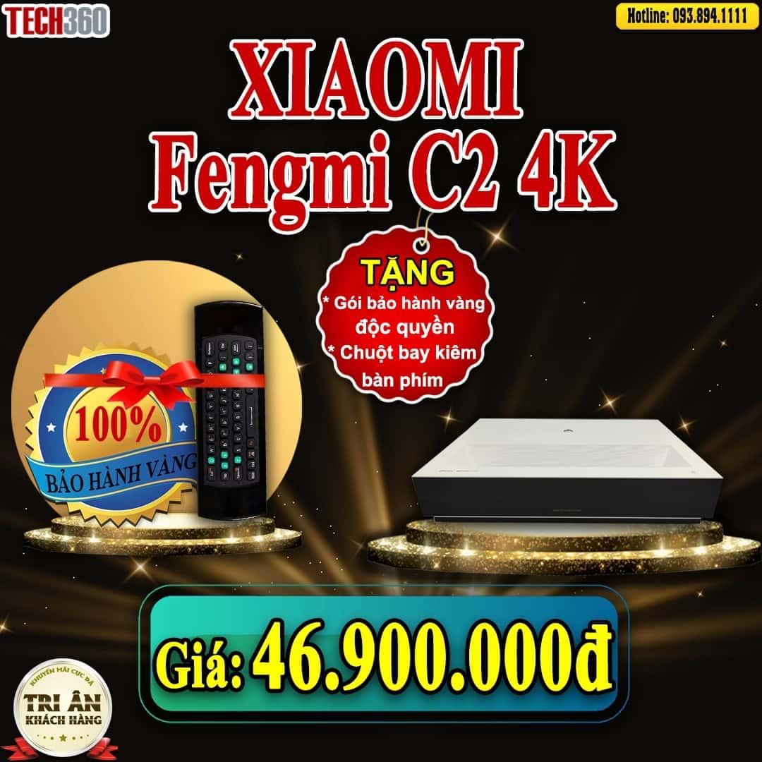 khuyến mãi máy chiếu fengmi c2